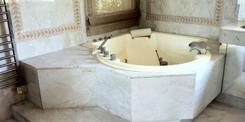 poncage marbre salle de bain