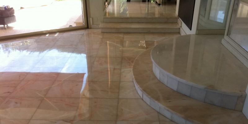 renovation marbre villa
