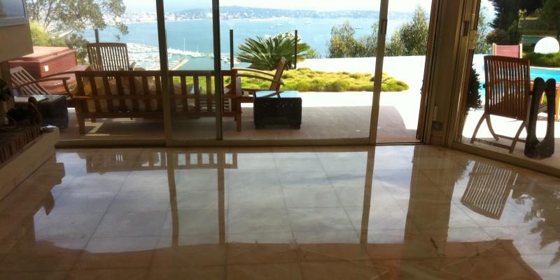 renovation marbre brillance