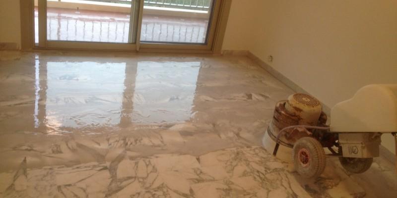 traitement et renovation marbre